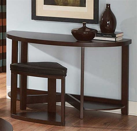 sofa table and stools homelegance brussel ii occasional collection c3292