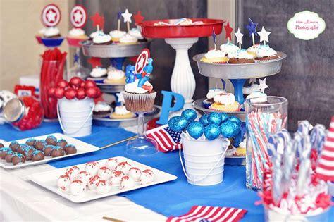 captain america birthday party ideas photo