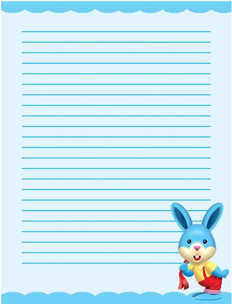 printable writing paper  stationery templates