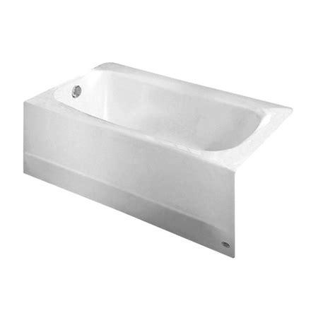 american standard cambridge  ft left drain bathtub  white   home depot
