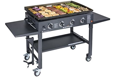 36 flat top grill blackstone 36 inch outdoor flat top gas grill griddle 3876