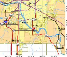 Bixby Oklahoma Map
