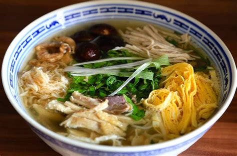 hanoi cuisine bun thang the elegance of hanoi cuisine green
