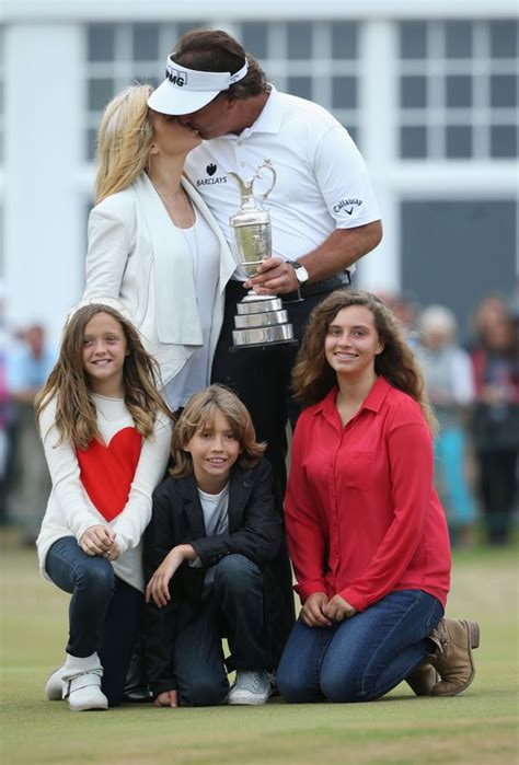 Phil Mickelson wins his first British Open, Tiger Woods ...