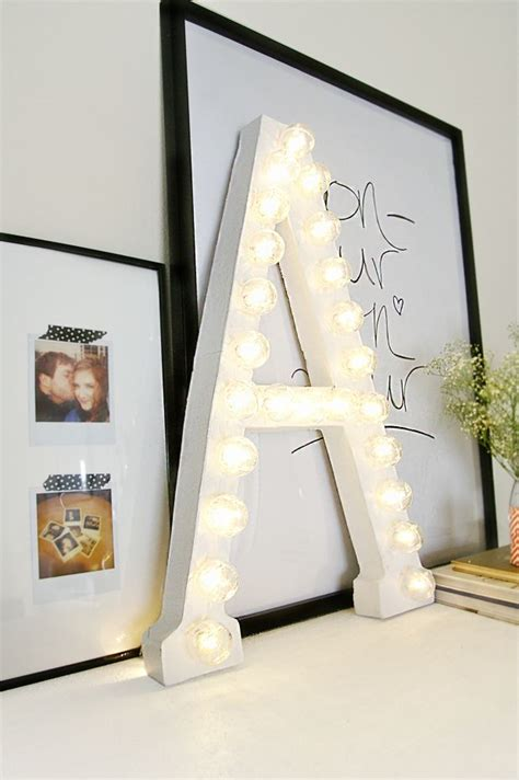 light   rooms decor  marquee letters