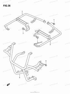Suzuki Atv 2004 Oem Parts Diagram For Footrest