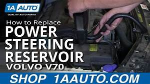 How To Replace Power Steering Reservoir 99