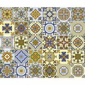 Stickers Carreaux De Ciment : 30 stickers carreaux de ciment genoa salle de bain et wc ~ Melissatoandfro.com Idées de Décoration
