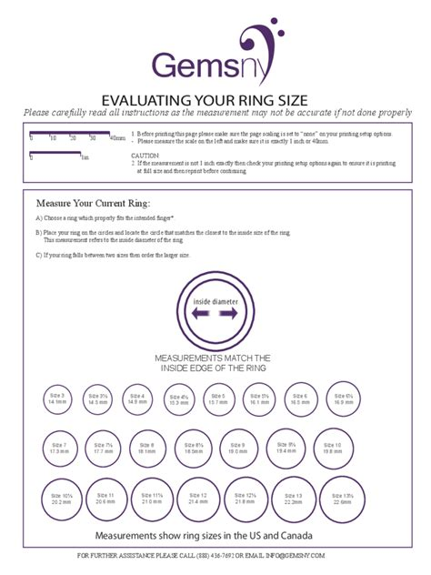 ring size template ring size chart 7 free templates in pdf word excel