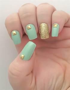 Mint Fake Nail ... Fake Nails
