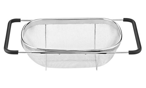 the sink colander stainless steel cuisinart stainless steel the sink colander