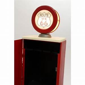 Meuble Pompe A Essence : meuble range bouteilles style pompe essence clairage ~ Teatrodelosmanantiales.com Idées de Décoration