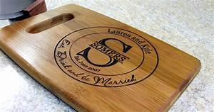 personalized cutting board wedding gift monogrammed eat drink With personalized cutting board wedding gift
