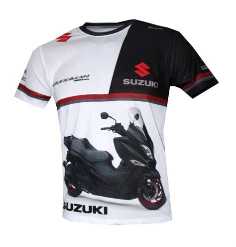 t shirt suzuki suzuki burgman t shirt with logo and all printed