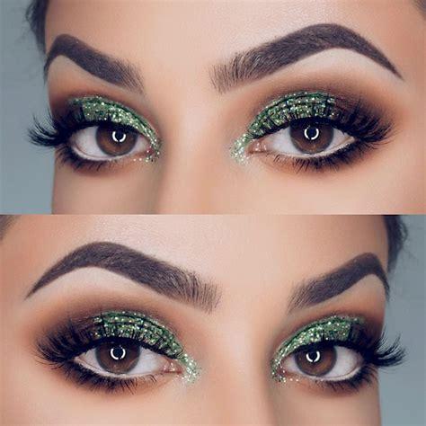 trendy ways   apply glitter eye makeup