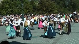 Austrian traditional folk dance: Niederbayr. Mazurka - YouTube  Traditional