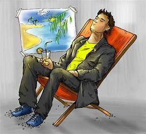 Dreaming Office Worker Stock Illustration  Illustration Of