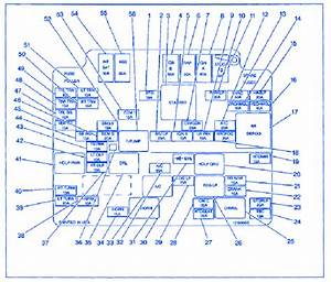 Chevrolet Geo Metro 1998 Fuse Box  Block Circuit Breaker Diagram  U00bb Carfusebox