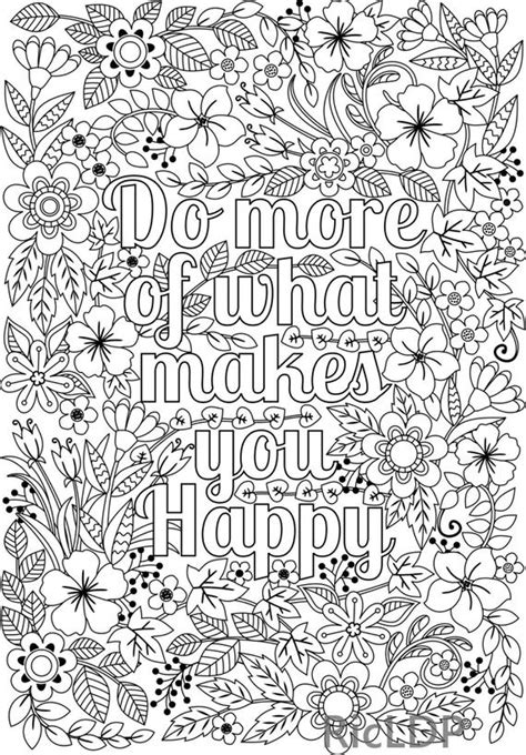 happy coloring page  adults