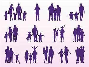 Family Silhouettes Set