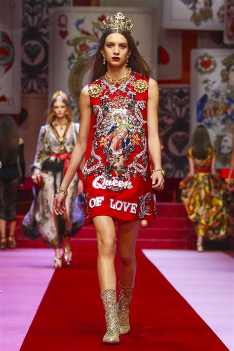Dolce Gabbana Fashion Show Ready To Wear Collection Spring