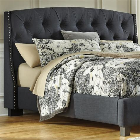 grey tufted headboard bedroom lovely king size tufted headboard for decoration