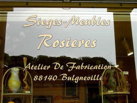 sieges rosieres horaires atelier de fabrication showroom vosges sieges