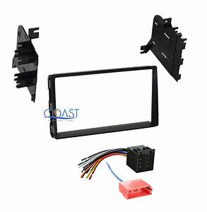 Car Radio Stereo Double Din Dash Kit Wiring Harness For