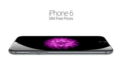 how much does iphone 6 cost factory unlocked sim free iphone 6 iphone 6 plus prices