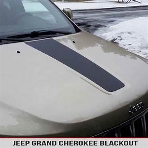 Hood Blackout Vinyl Decal For Jeep Cherokee Wk2 11