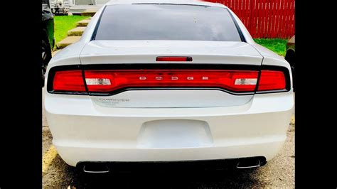 install  rear bumper   dodge charger youtube