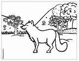 Coloring Forest Children Pages Popular sketch template