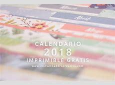 Calendario2018imprimiblegratiselinvernaderocreativo
