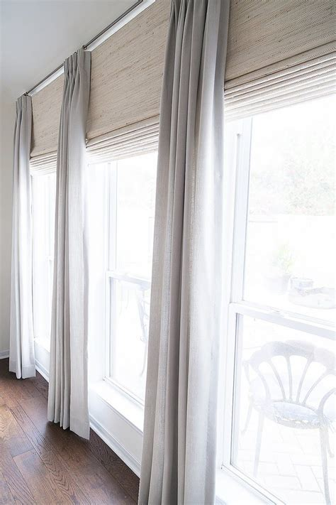 Curtain Shades by Before After A Plain Bedroom Becomes A Calm