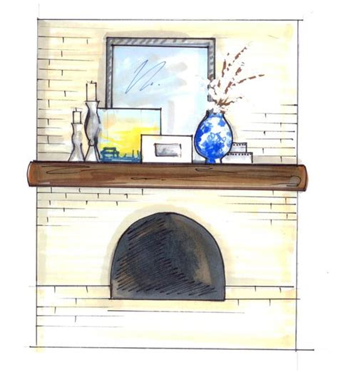 fireplace mantels and surrounds 69 best mantel accessorizing images on 7208