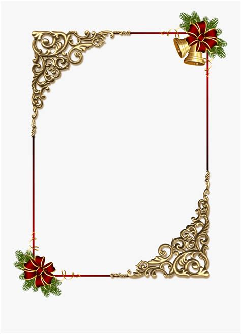 red ribbon border clipart gold christmas border designs