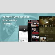 Private Investigator Wordpress Themes For Spy Services
