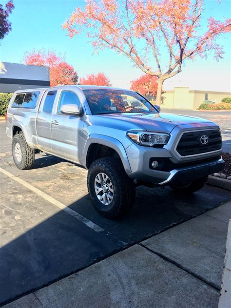 3rd with larger tires and or lifted on stock wheels page 6 tacoma world