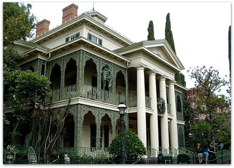Every Haunted Mansion On The Planet