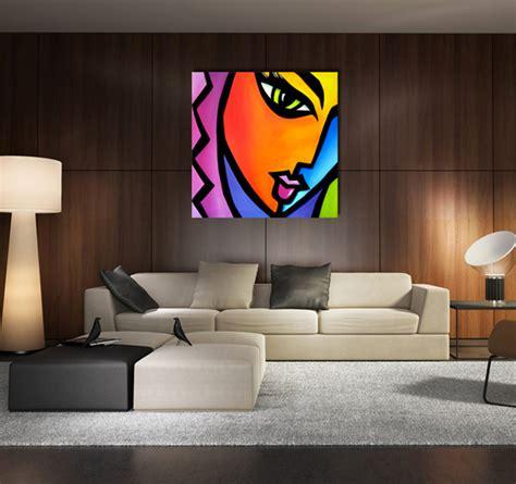 tableau design pop art woman