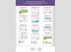 Calendario SEP 20172018 Educación y Cultura AZ