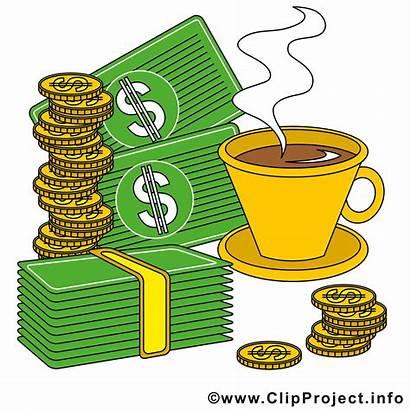 Clipart Kaffeepause Geld Utklipp Koffiepauze Kahvitauko Cartoon