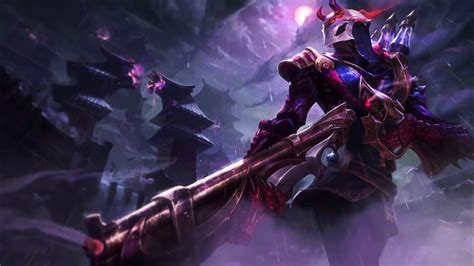 Animated Moon Wallpaper - blood moon jhin animated wallpaper