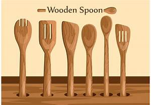 Wooden Spoon Vectors Download Free Vector Art Stock