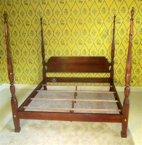 Ethan Allen Bunk Beds by Ethan Allen King Rice Carved Poster Bed Georgian Court