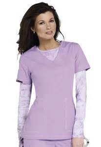 Medical Scrub Uniform Tops