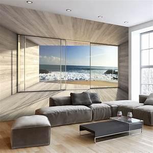 fototapety powiekszajace wnetrze pomysly na dekoracje na With markise balkon mit tapet 3d living