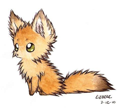 fluffy fennec fox  liedeke  atdeviantart illustration