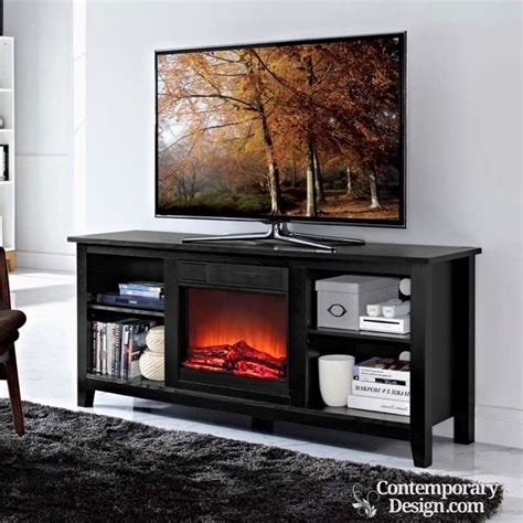 portable fireplace tv stand electric fireplace tv stand