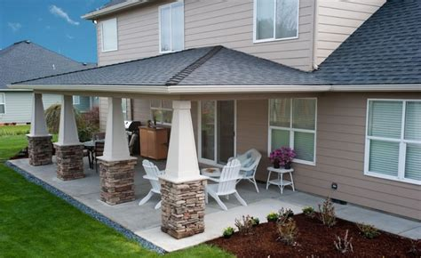 two story house plans with covered patios